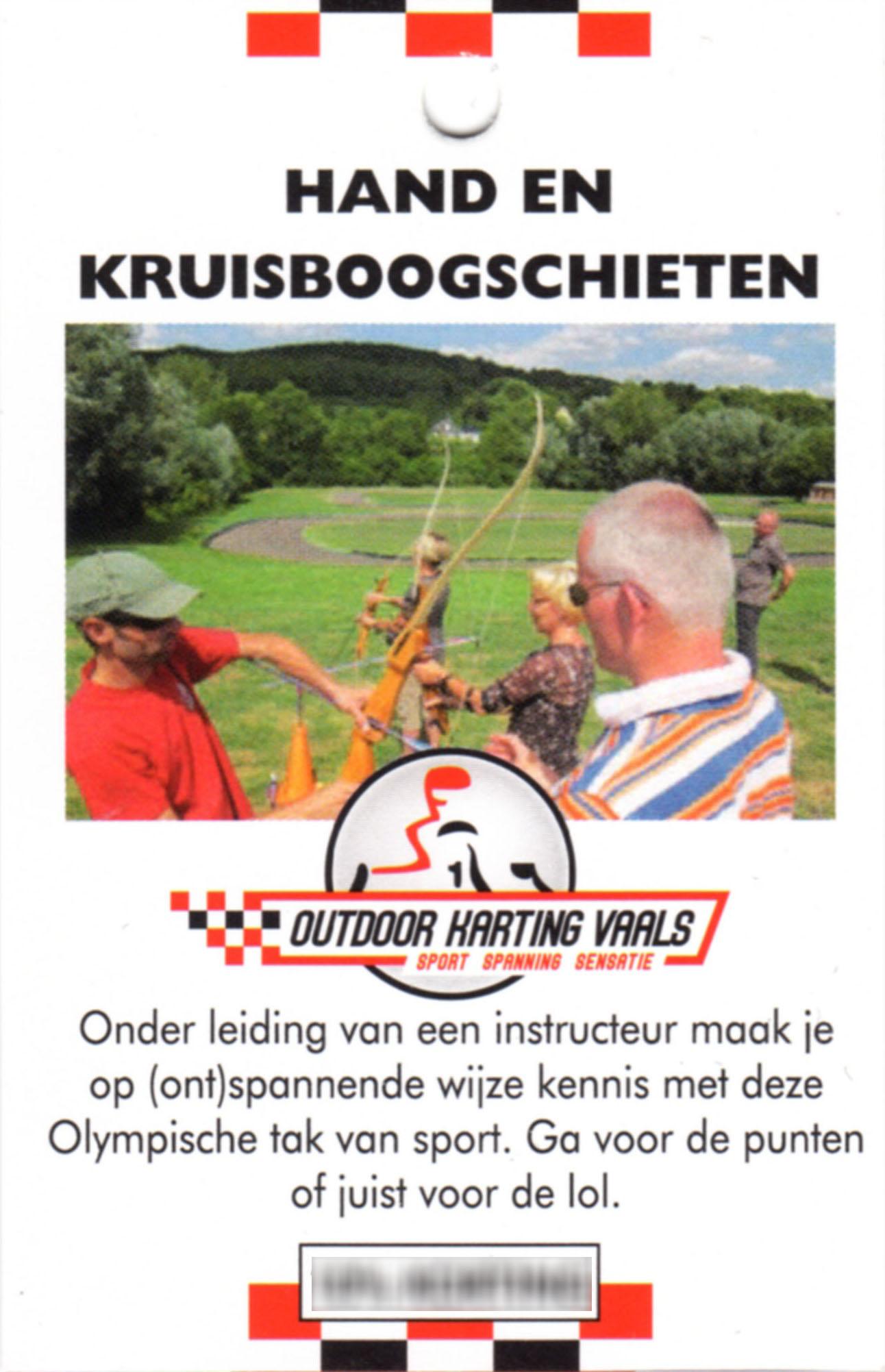 Boogschieten Outdoor Karting Vaals