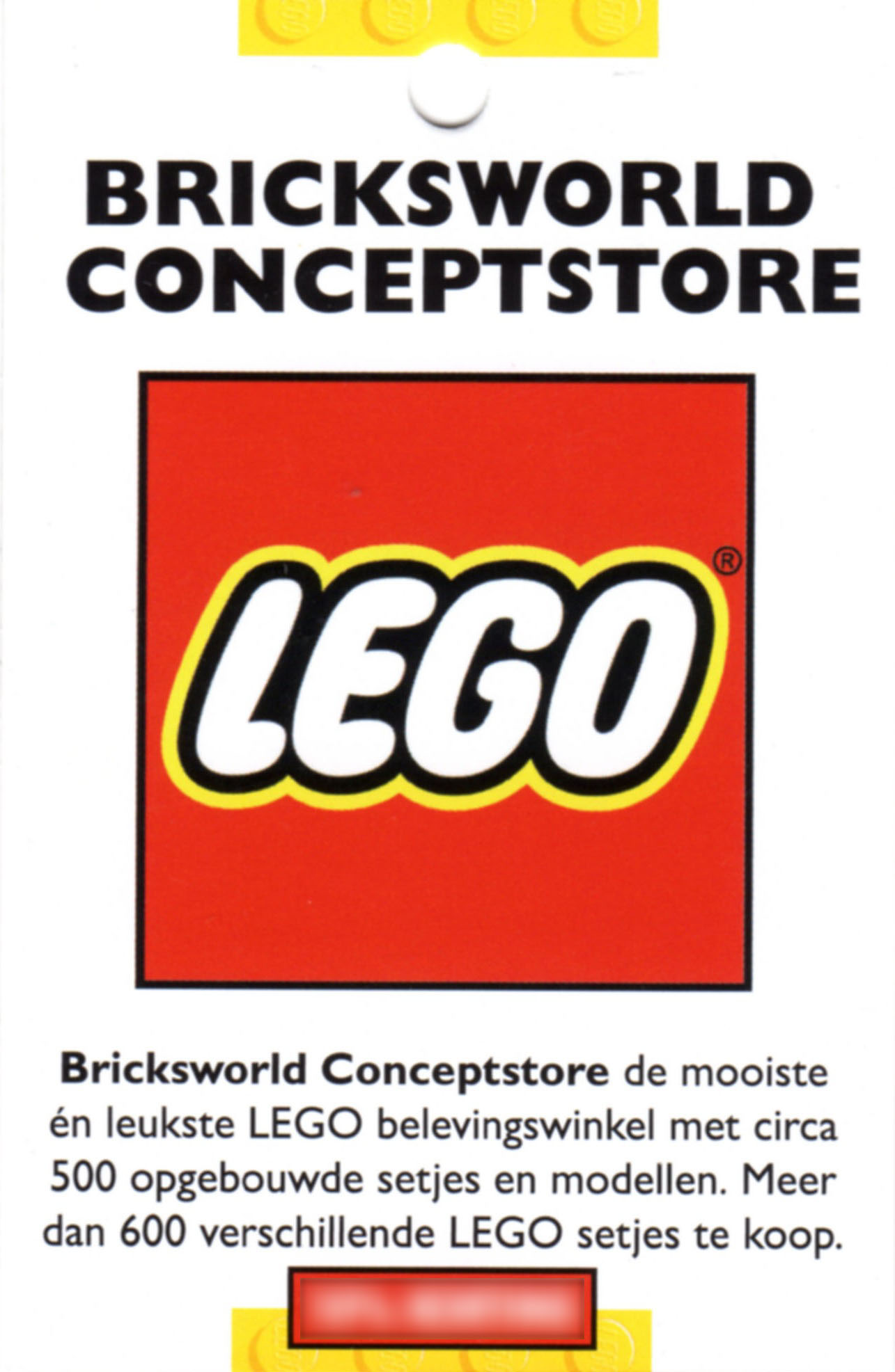 Bricksworld conceptstore