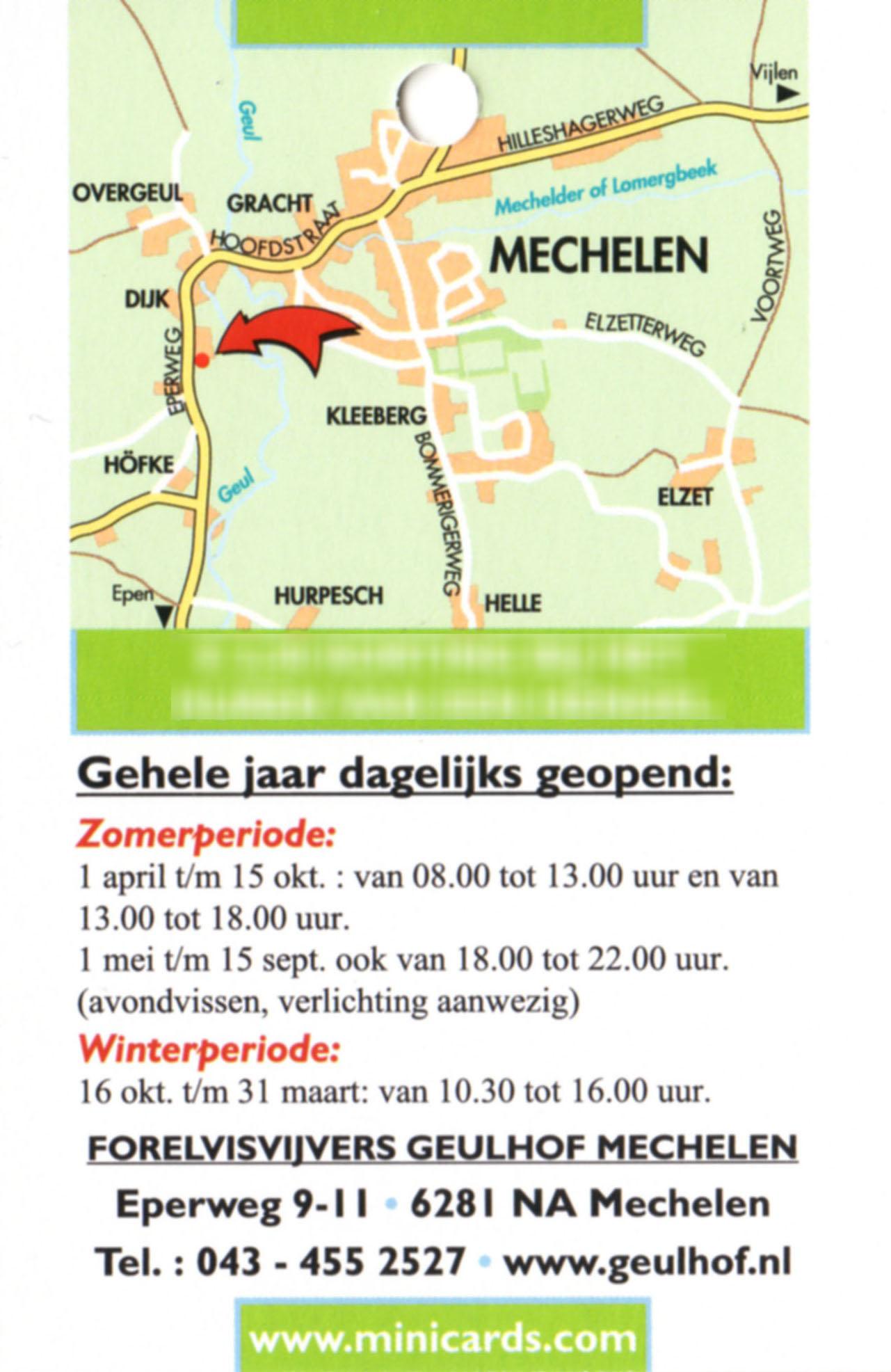Forelvissen Geulhof Mechelen
