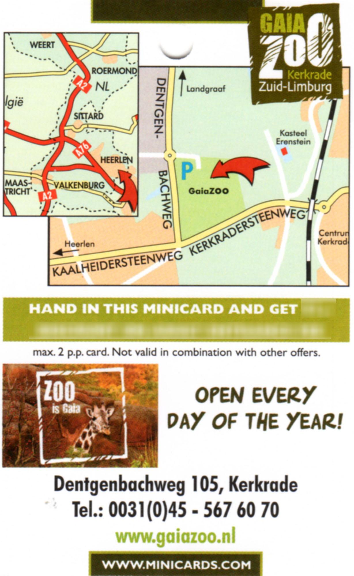 Gaia Zoo info