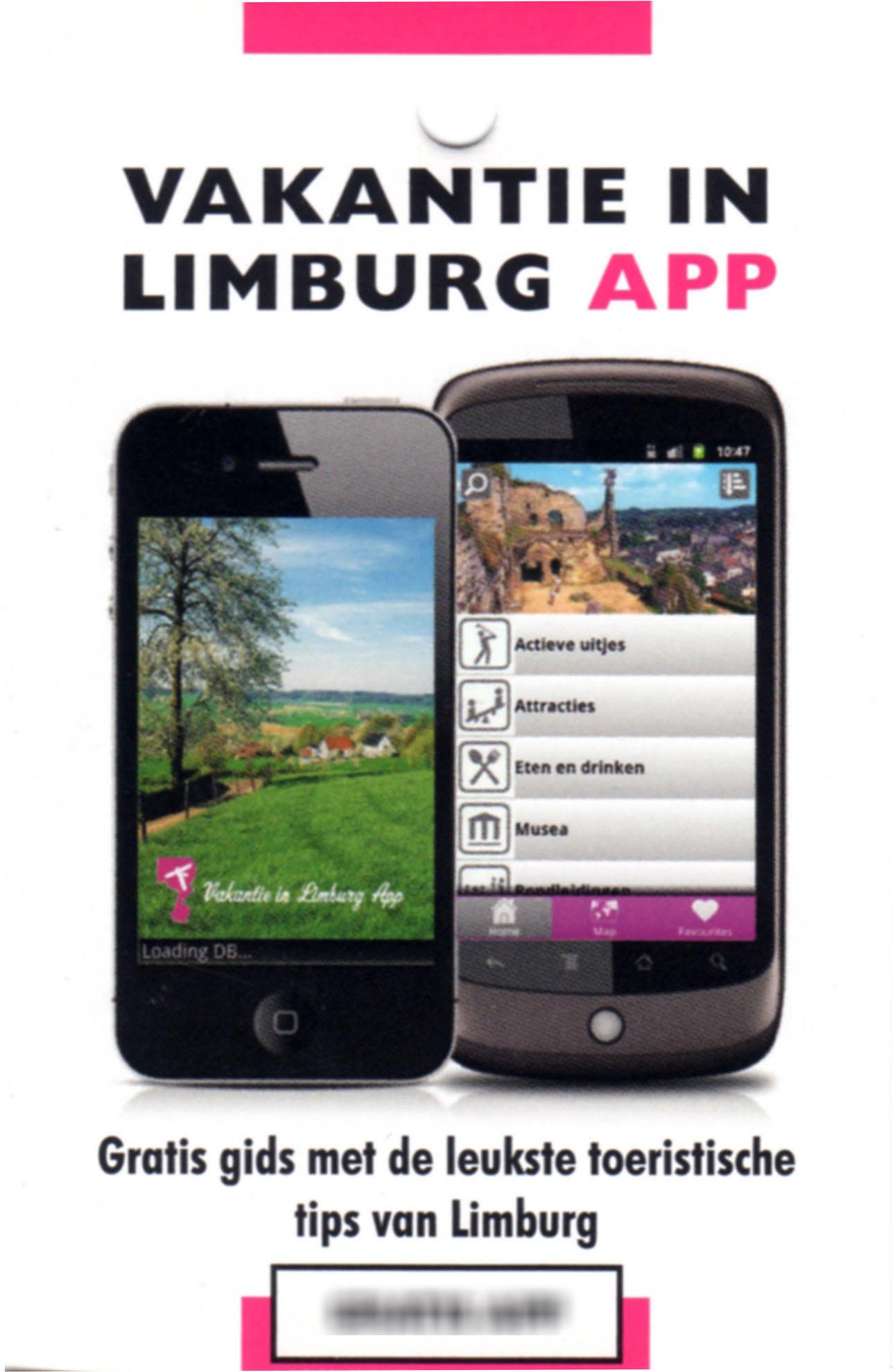 Limburg vakantie app