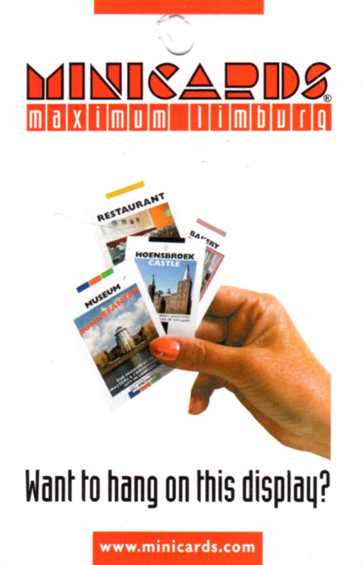 Mini cards info