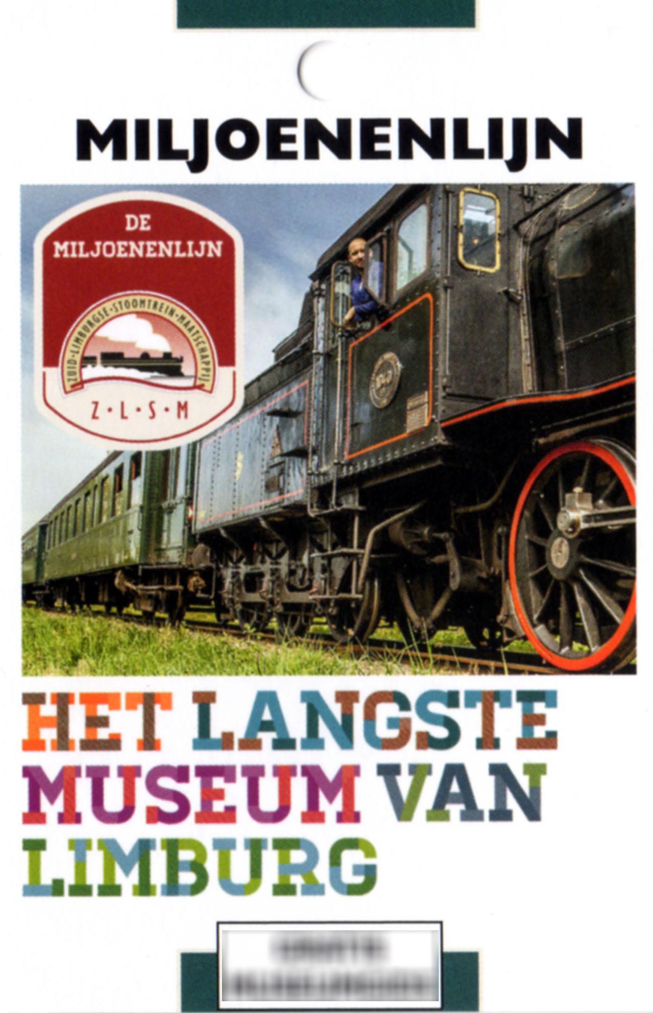 Spoorwegmuseum De Miljoenenlijn