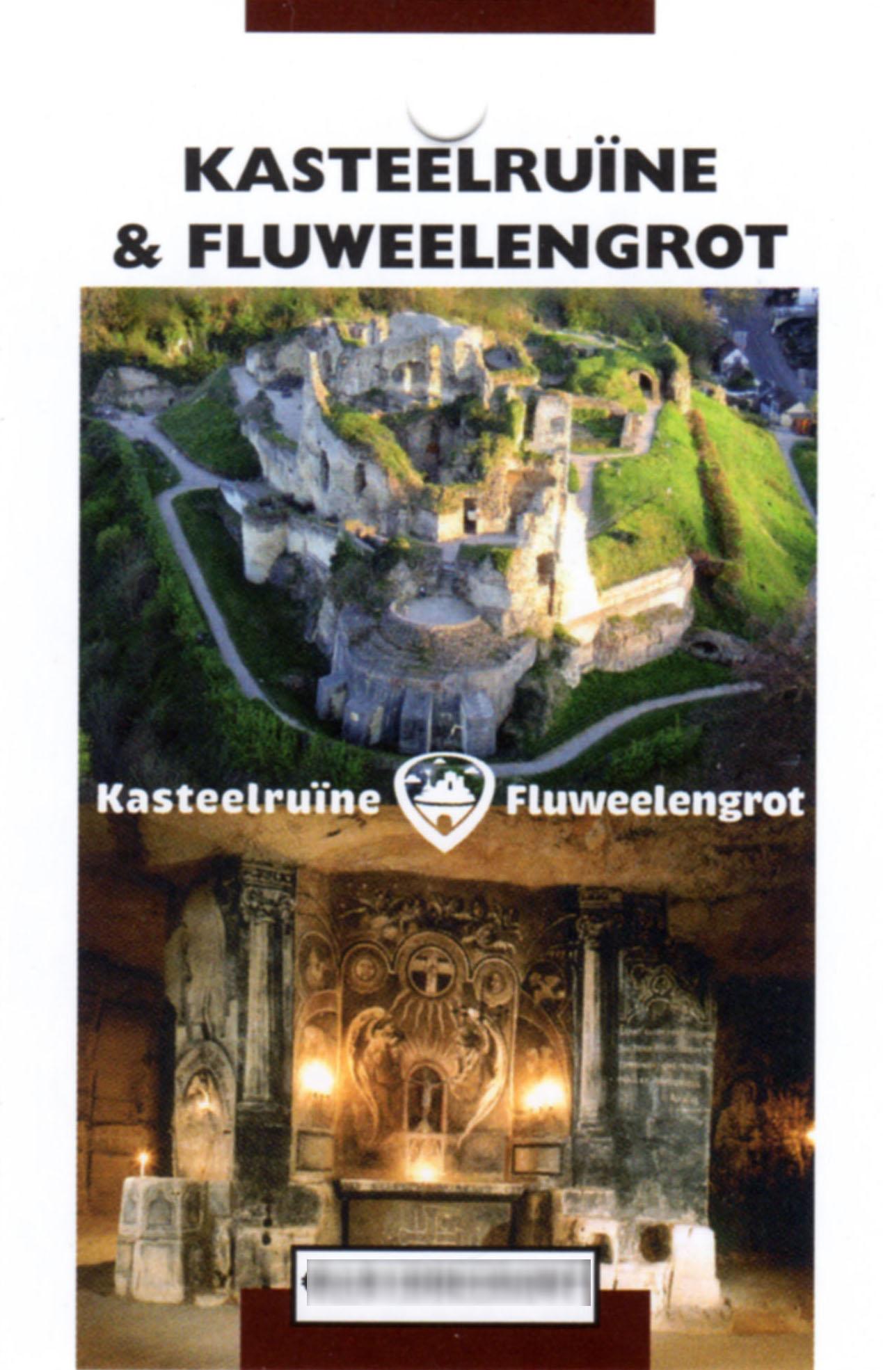 Kasteelruïne Fluweelengrot Valkenburg